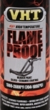 Flame Proof  BLAUW (mat) - tot 1093°C